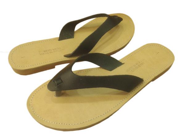greek handmade leather sandals 46
