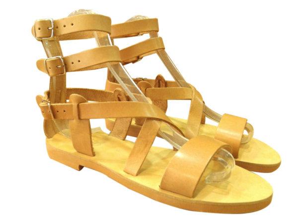 greek handmade leather sandals 121 1