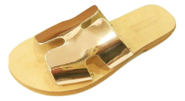 greek handmade leather sandals 716