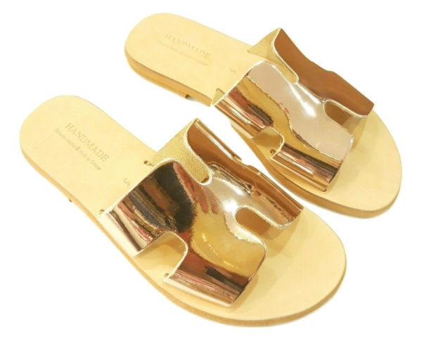 greek handmade leather sandals 718