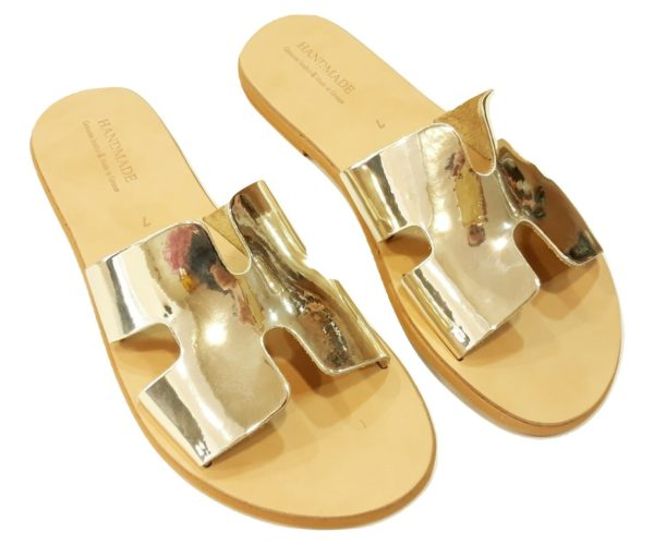 greek handmade leather sandals 758