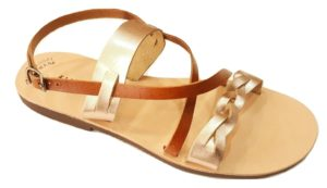 802 Greek Handmade Sandals - Ancient Greek Leather