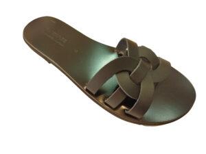 Greek handmade leather gladiator sandals